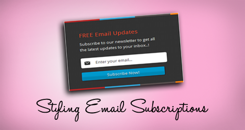Add a Stylish Feedburner Email Subscription Form for your Blog