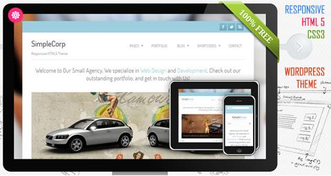 Free HTML5 Responsive WordPress Theme