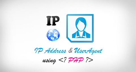 Show user information like IP address, useragent with PHP codes
