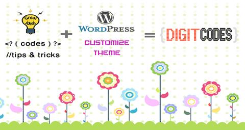 Making of Digit Codes: Ideas & Codes +  WordPress