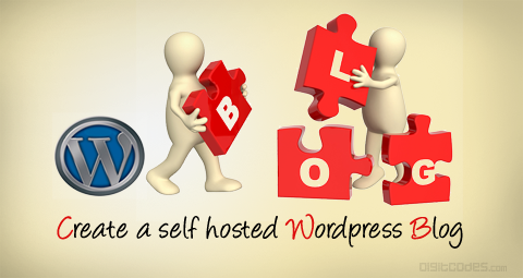 Create a self hosted wordpress blog or website for free