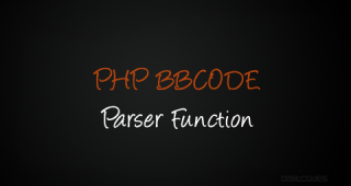 Create a Simple PHP BBCode Parser function