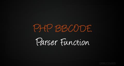 PHP BBCode Parser